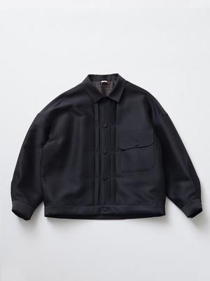 MAISON EUREKA ONE POCKET DRESS JACKET Black 207