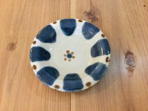 皿4寸呉須 チチチャン ノモ陶器製作所