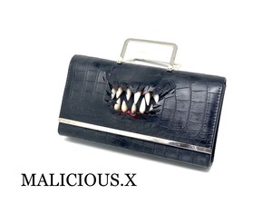 creature shoulder & hand bag (crocodile)