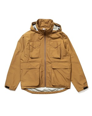 3LAYER JKT BEIGE -SON OF THE CHEESE-