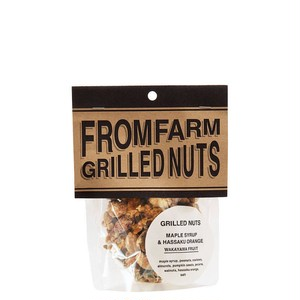 FROM FARMのGRILLED NUTS(メイプルシロップ&はっさく)