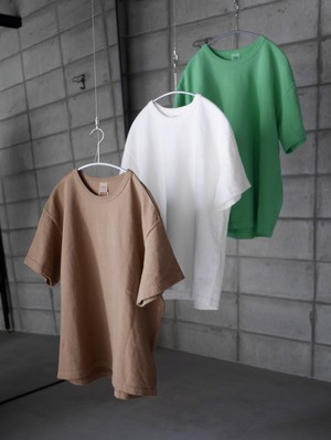 THE UNION / Sixteen Two  Tee   (  BROWN  / WHITE / LIGHT GREEN )