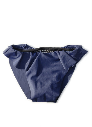 Swing Bottom - Navy Peony