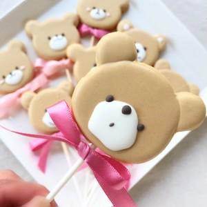 Sweet Bear Pops (10本単位でご購入ください@648)