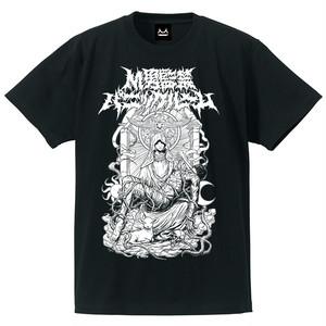 M男監禁パニックルームTシャツ(黒&白)