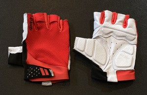 【フリー】GIRO (ジロ) ■ MONACO II GEL CYCLING GLOVES Bright Red