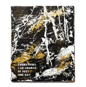Abstract Painting: EVERYTHING CAN CHANGE