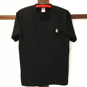 3107 pocket tee Black