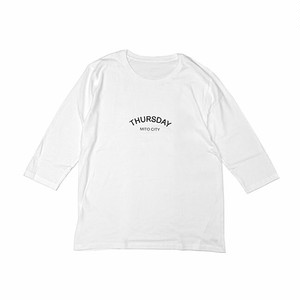 THURSDAY - ARCH 1/2 SLEEVE TEE (White) 4.6oz