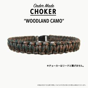 *チョーカー ウッドランドカモ