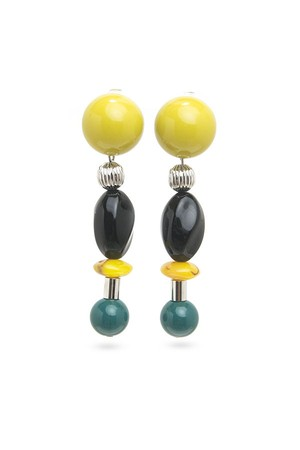 Candy Ball Earrings | YELLOW