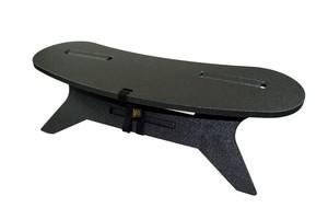 C型テーブル ブーメラン「米軍特殊塗装ブラック」(特殊塗装天板)焚き火 テーブルC TABLE Boomerang W800  アウトドア テーブル