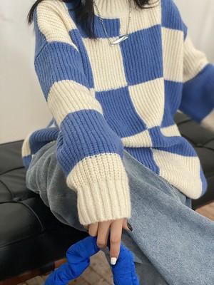 チェスニット(Blue,Grey) 140