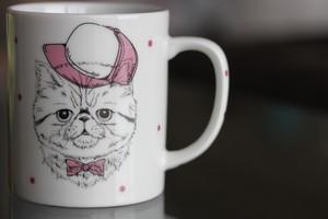ネコマグカップ