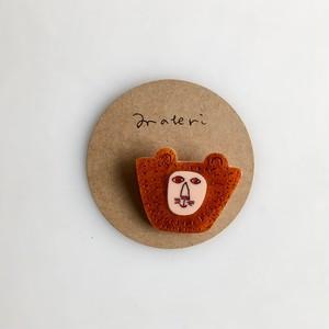 matei アクリルブローチ(ミズノマサミ)  Lion-B