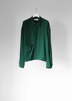 【ETHOSENS】《21SS》シルクシャーリングシャツ E121-201