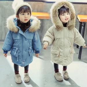 【キッズ 暖かい 中綿コート】韓国子供服 ライトブルー ベージュ コート 防寒 上着 子供服 おしゃれ 男の子 アウター 女の子 ユニセックス ベビー キッズ ベビー おでかけ  送料無料