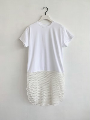 Mesh Switching T-shirts