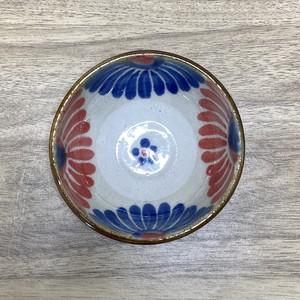 3寸鉢重ね焼き 菊模様