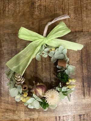 mini wreath  キット