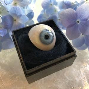 アクアブルーの義眼