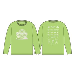 BURSTMAX'18ロングTシャツ(ライムグリーン)