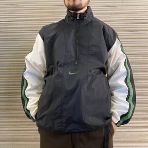 """90's """"Nike"""" Half Zip Nylon Jacket"""