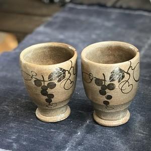 絵唐津フリーカップ2客セット