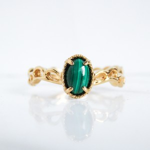 《Candy series》 Malachite ring