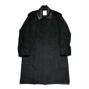 【O-】レイチョウルイラボ WIND COAT BLACK