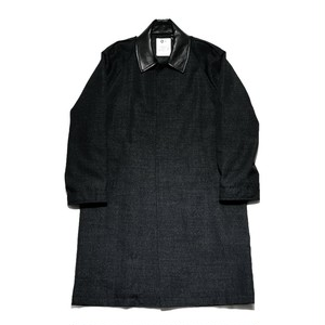 WIND COAT BLACK【O-】