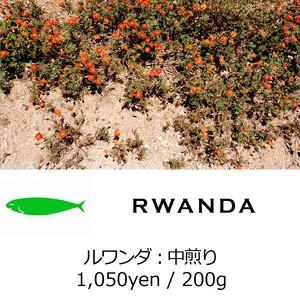 MONTHLY BEANS No.2:RWANDA - ルワンダ - 中煎り