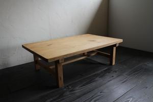 木製のローテーブル 座卓 卓袱台 ちゃぶ台 古家具