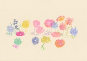 沙羅「小さな庭」 Small Gardenシリーズ(L−18)
