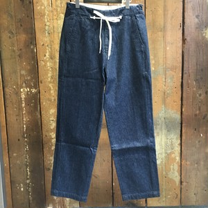 EFILEVOL エフィレボル Shoelace Belt Denim Pants / Indigo