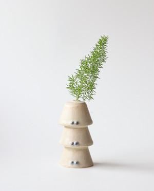 妖精のフラワーベース(松ぼっくり) 花瓶