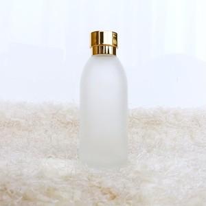 ガラス製ローションボトル(ゴールド)