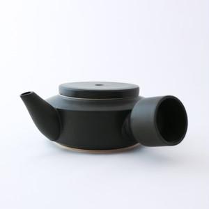 3RD CERAMICS(サードセラミックス) 急須 φ12 × H7cm ブラック 陶器 岐阜 多治見市 スタイリッシュ プレゼント テーブルウェア