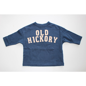 【DENIM DUNGAREE】708401 テンジク OLD HICKORY TEE 130㎝-140㎝