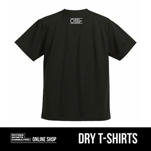 SHOEHURRY! ドライTシャツ(ブラック×ホワイト)