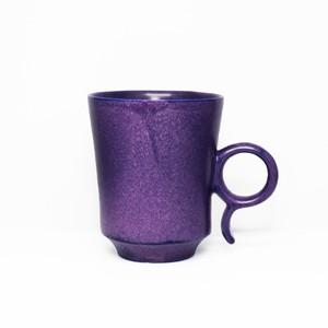 鮮烈なパープルカラーマグ 陶芸作家【古賀崇洋】Mug Cup マグカップ ver.01 (Purple)