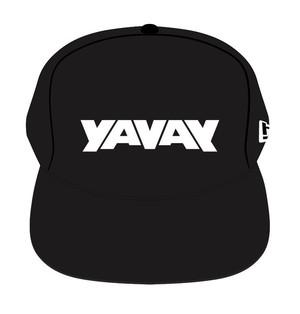 オフィシャル本家「YAVAY」キャップ(復刻版) ヤバ黒(超定番)