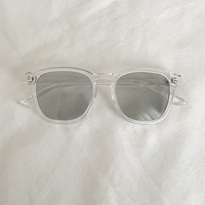 ME4054 Clear Gray Sunglasses