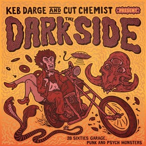 "【残りわずか/CD】Keb Darge & Cut Chemist - The Dark Side ""30 Sixties Garage Punk And Psyche Monsters"""