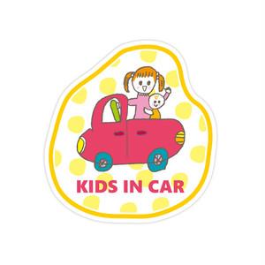 KIDS IN CARステッカー