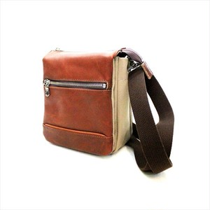 GLOVE LEATHER MINI SHOULDER <BROWN>