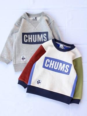 CHUMS【Logo Crew Top】Kids KN