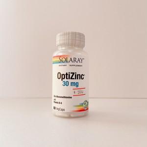 Optzinc(亜鉛)30mg60錠入り