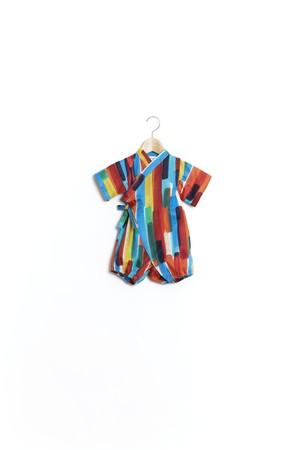 【20SS】ウルフアンドリタ(WOLF&RITA)-JINBEI BABY[12-18M]甚平 祭