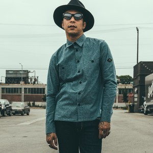 CRIMIE / C1G5-SH06	CHAMBRAY SHIRT